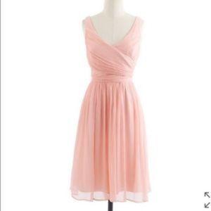 J. Crew Heidi short Chiffon Dress
